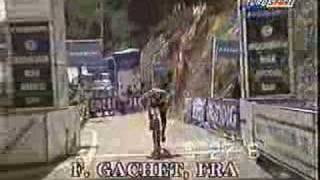 Cap-d'Ail France  city photos : MTB Downhill World cup Mountain bike 1995 Cape D'ail (France)