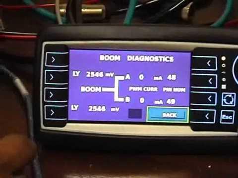 CAN Automotion OpusA3 ESX SureGrip Joystick demo