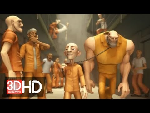 """3D Animation Video HD : """"Jungle Jail"""" - By ESMA"""