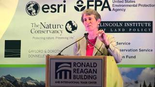 NWLLC Plenary 2: October 23, 2014 Keynote Address Secretary of the Interior Sally Jewel, United States Department of the Interior Introduction by Lynn Scarle...