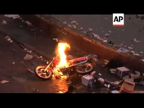 Video WRAP Troops, police launch assault to evict protesters ADDS ground shots download in MP3, 3GP, MP4, WEBM, AVI, FLV January 2017