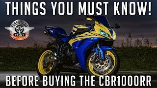 4. Things you should know before buying a Honda CBR1000RR (Fireblade)