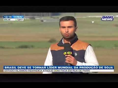 Band News: Brasil deve se tornar líder mundial da produção de soja