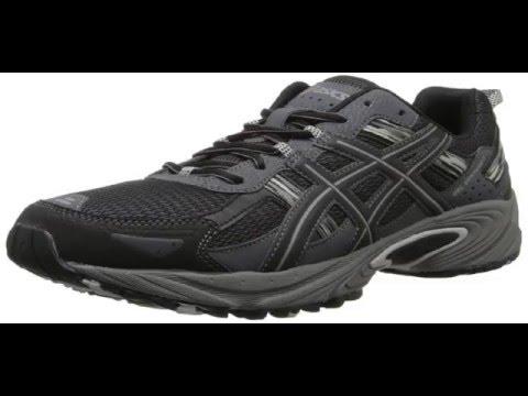 ASICS Men's Gel Venture 5 Running Shoe, Black/Onyx/Charcoal