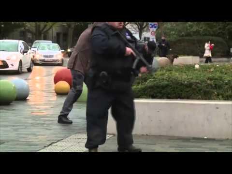 Attentats de Paris: arrestation filmée à Molenbeek près de Bruxelles