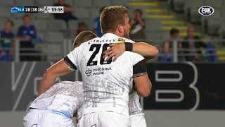Blues v Sharks Rd.7 2018 Super Rugby video highlights