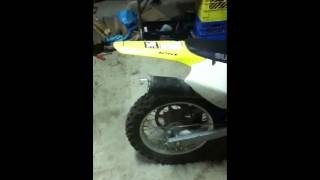 10. Cold start 2008 Suzuki DRZ 125 L