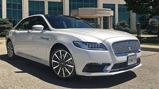"2017 Lincoln Continental review:2017 Lincoln Continental: The comforting return of an American iconThe GoodThe 2017 Continental marks a welcome return to relevance for Lincoln. A serene ride and posh cabin blend with a powerful twin-turbo V6 to offer a uniquely American take on luxury.The BadIt's all too easy to bloat the window sticker with expensive options, and rear seat headroom is surprisingly compromised. A full suite of advanced safety features are not available on all trims, and more of them should be standard equipment.The Bottom LineNot content to chase the Germans, Lincoln crafts a handsome flagship that bravely emphasizes coddling over dynamics.The auto industry's definition of luxury is forever changing. Novel features constantly trickle down to models of lower price tags and status, so premium automakers are always on the hunt for The Next Big Thing. The heated/cooled seats and sleek glass showrooms of yesteryear have given way not just to 30-way massaging loungers, but to inclusive ownership experiences with butler-like services.What's interesting is that in terms of performance, today's luxury sedan market is showing signs it's going back to the future, putting an emphasis on coddling performance over cornering prowess. That may not play well for marketers who love to show their cars hustling over Alpine passes or powersliding on dry lake beds, but it's probably more consistent with the way buyers actually drive, and it's certainly more in line with Our Autonomous Future. If not a total refutation of the sporty Germanic driving character that nearly all luxury automakers have been tilting at for decades, this change is at least a significant development. Need proof this trend has legs? Look no further than new cars like the Genesis G80 and G90, Volvo S90, and this car, Lincoln's reborn Continental.Yes, Lincoln Continental. It's been a while since we've heard those two names together. In fact, it's been 15 years since Ford's luxury brand offered a Continental, and it's been much, much longer since the famed nameplate wasn't an embarrassing, tarnished mess. This new 2017 model not only aims to restore some luster to one of the great monikers in all of motoring, it's on a mission to make Lincoln relevant again -- not just here in North America, but in China, the world's largest car market, where the brand will have to succeed if it has any hopes of surviving at all.Spoiler alert: The new Continental is a very nice car.This $1,750 paint is called Chroma Elite Copper Metallic, and unexpectedly, it grows on you.The chief thing that's been holding Lincoln back all these years is a profound lack of investment. If Ford's now-dead Mercury models offered Blue Oval cars with a bit more content, Lincoln's didn't do much better, slathering on a schmear of chrome frosting and little else. And while this new Continental doesn't ride on its own dedicated platform, it still feels like a clean-sheet execution.Let's start with this Lincoln's curb appeal, because... it has some. I mean that literally -- the Continental's best, most distinctive view is its profile, the aspect you'd see when standing alongside one on the sidewalk. When viewed from the side, not only can you take in this Lincoln's vast scale, you can see its most unique design attributes: its startlingly clean sheetmetal and improbably enough, its door handles and mirrors.The former are uniquely integrated into a band of chrome just below the windowline, a placement that necessitated using electric microswitches to activate the release (mechanical assemblies wouldn't fit). The handles look great and feel both substantial and appropriately cool to the touch. My only wish is that the back doors were rear hinged, so that you could pull open both handles like a big Sub-Zero fridge, or, more accurately, like a 1960s Elwood-Engel-era Continental, whose slab sides this new model tries to emulate. But suicide doors would've been a crippling engineering cost and crash-test challenge, so front hinges it is.It's not often that mirrors are worthy of note, but the Continental's are almost sculptural in detail.Read More https://www.cnet.com/roadshow/auto/2017-lincoln-continental/review/""Cadillac CT6, Volvo S90 interior 2017""""SUBSCRIBE NOW"""