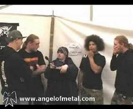 Angel Of Metal interview with Speed Theory online metal music video by SPEED THEORY