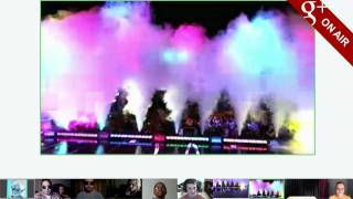 Highlights from the Black Eyed Peas' Google+ Hangout On Air
