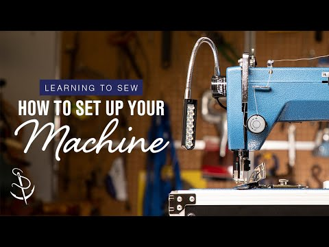 Sewing Machine - In Part 1 of Sailrite's Learning to Sew Series beginning sewers will get to know their sewing machines. This video covers the parts of the sewing machine and...