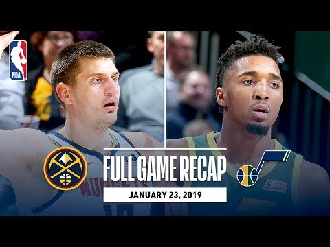 Video: Full Game Recap: Nuggets vs Jazz | Jokic & Mitchell Show Out In Utah