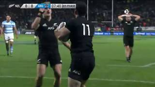 New Zealand v Argentina 1st Test 2017 Rugby Championship