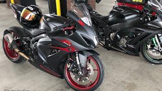 8. Yamaha R1M vs Kawasaki ZX10R vs GSXR 1000
