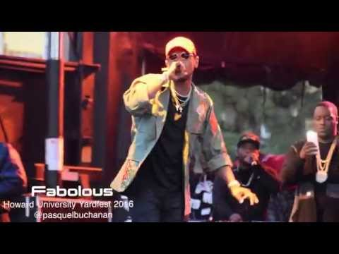 Download Fabolous at Howard University's Homecoming Yardfest 2016 MP3