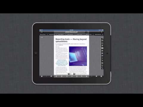 Use GoodReader On The iPad To Go Paperless