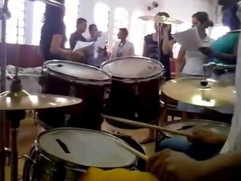 Mocidade Marchando Pela Fé (Ribeirão Corrente) Musica, Avivamento-Voz da Verdade.flv