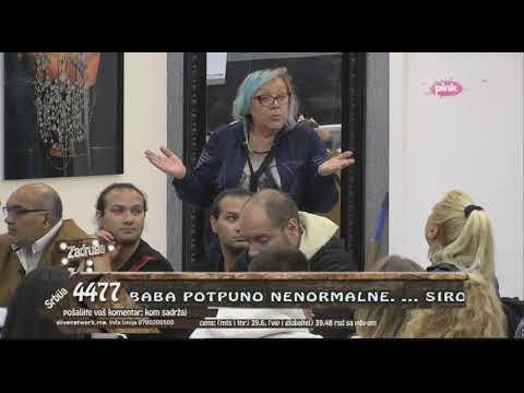 LETELE FLAŠE na sve strane! TUČA Zorice i Marije Kulić, Gibi Vasiću KRVAVA GLAVA