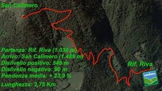 Dal Rifugio Riva a San Calimero