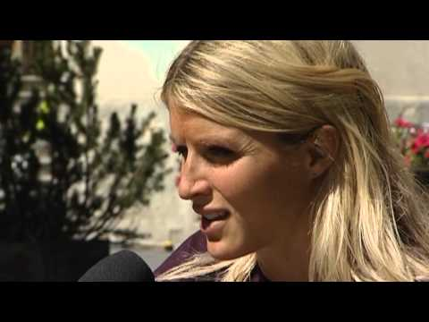 Therese Johaug - Interview to THERESE JOHAUG ( 9th of september 2013) in Livigno - www.telemonteneve.com.