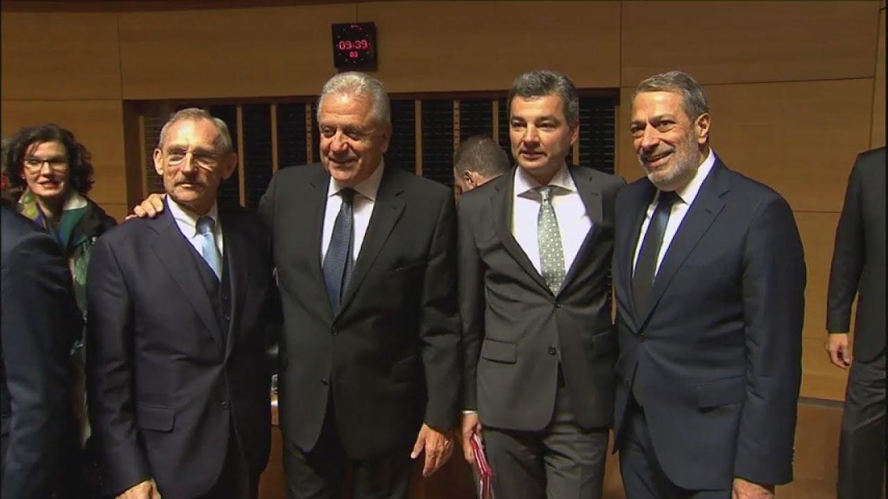 Συνεδρίαση του Συμβουλίου υπουργών Δικαιοσύνης και Εσωτ. Υποθέσεων της ΕΕ