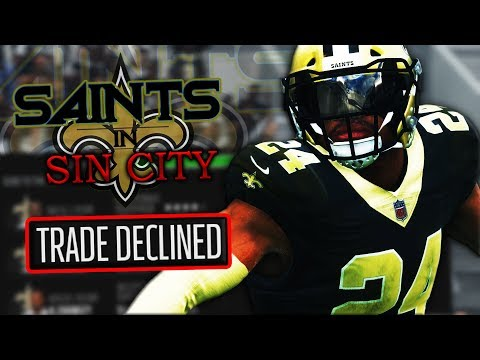 MADDEN 18 TRADES FINESSED ME BACK! | Madden 18 Sin City Saints Ep. 9