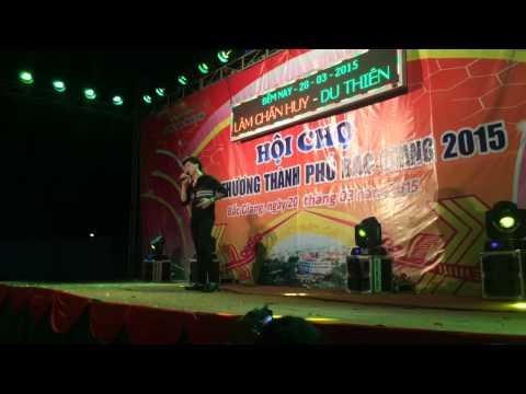Lâm Chấn Huy quậy tưng bừng tại Bắc Giang 2015