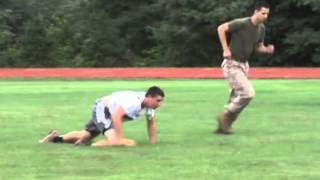 Macon (MO) United States  city photo : The Macon football team goes through Marine training