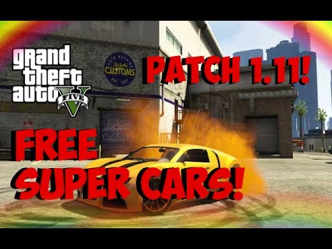 GTA 5 Online - FREE SUPER CARS! SOLO Super Car Insurance Glitc