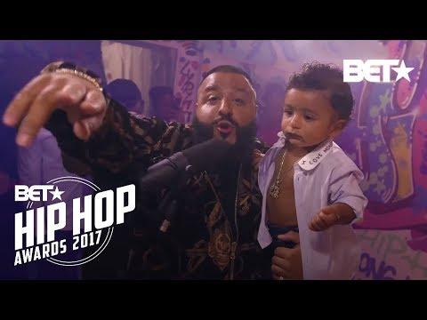 Instabooth With DJ Khaled, XXXTentacion, Big Shaq & more Freestyle Cypher | BET Hip Hop Awards 2017