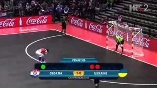 Video Futsal Euro 2012   Hırvatistan   Ukrayna  Penaltı Atışları MP3, 3GP, MP4, WEBM, AVI, FLV April 2017