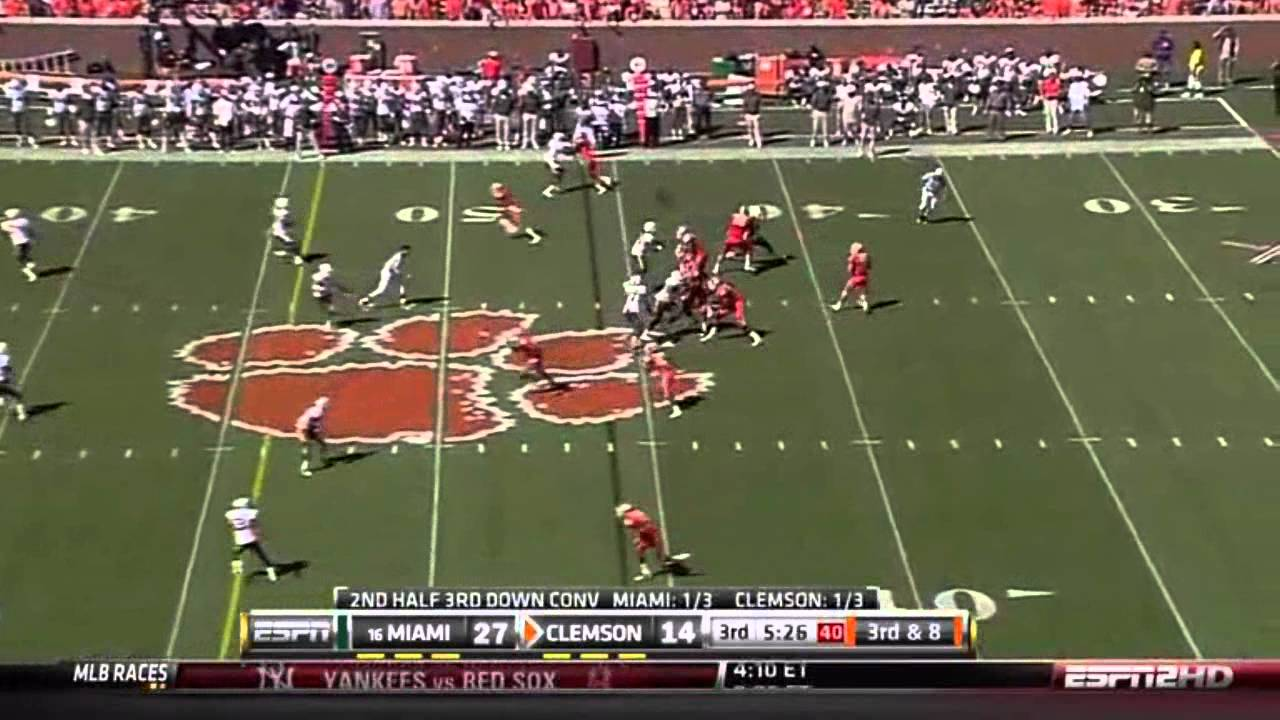 Andre Ellington vs Miami (2010)