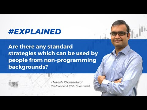 Are there any standard strategies which can be used by people from non-programming backgrounds?