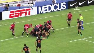 Jaguares v Lions Rd.3 Super Rugby Video Highlights 2017