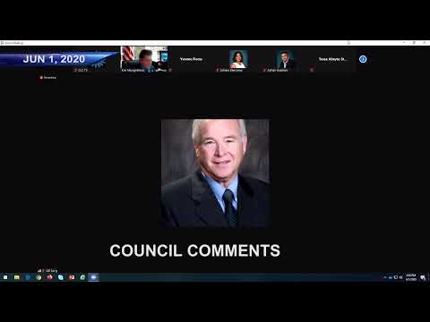 City Council - Jun 01 2020