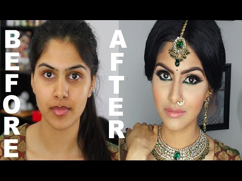 Video Indian/Bollywood/South Asian Bridal Makeup | Start to Finish | Mona Sangha download in MP3, 3GP, MP4, WEBM, AVI, FLV January 2017
