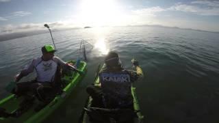 Pescaria fraca, mas sempre é bom estar na companhia dos amigos.Alguns mergulhos para refrescar.