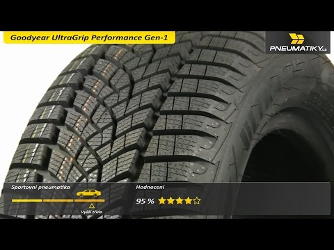 Youtube Goodyear UltraGrip Performance Gen-1 195/55 R15 85 H Zimní