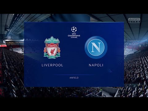 FIFA 19 | Liverpool Vs Napoli - UEFA Champions League (Full Gameplay Xbox One X)
