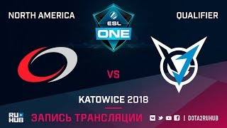 compLexity vs VGJ Storm, ESL One Katowice NA, game 2 [Lum1Sit, Inmate]
