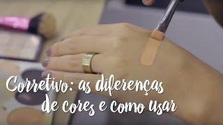 Fica a Dica – Corretivo: as diferenças de cores e como usar