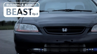 In this episode I discuss why keeping your brake system in top shape is important, especially with a car you have added horsepower to.  Also I show you how to install new brake pads and rotors all around the turbo Honda Accord.