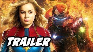 Captain Marvel Trailer - New Avengers Endgame Plot Teaser Breakdown
