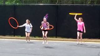 Hoop Dance - Taking it outdoors.