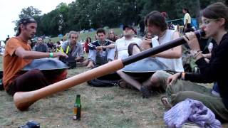 Airvault France  city photo : festival du didgeridoo 2010 (airvault, france, le reve de l'aborigene) impro didgeridoo hang