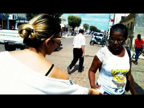 Evangelização no semáforo em Paulistana - JUBAP