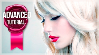 Advanced Photoshop Tutorial #2 - Advanced Frequency Separation Beauty Retouch