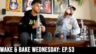 WAKE & BAKE WEDNESDAY EP.53: Designer Weed, PGR's, Our Worst Injuries by The Cannabis Connoisseur Connection 420