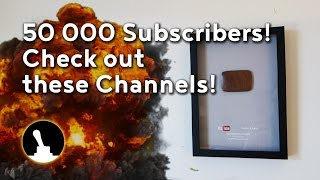 50 000 subscribers! That's far more people I ever guessed would watch this channel, I am truly humbled. To pass on the torch, check out any, or all, of these twenty channels for more wonderful video material!01:1301 Wood By Wrighthttps://www.youtube.com/channel/UCbMtJOly6TpO5MQQnNwkCHg01:4402 Greg's Garagehttps://www.youtube.com/user/gregmporter02:1503 Katz-Moses Woodworking Shophttps://www.youtube.com/channel/UCXBNF-A7QlYT3tT-B9N4ElA02:4604 One Car Workshophttps://www.youtube.com/user/johnnyatropos03:1705 Works by Solohttps://www.youtube.com/channel/UCJ7uYj09nzB5cHD4G6qoVWg03:4806 Olliewoodhttps://www.youtube.com/channel/UCoIqQnRHV66Ifm3qLEnjYYg04:1907 Bill Sinhttps://www.youtube.com/channel/UCNhGZkO3bL-n9Ca2IYFK1yQ04:5008 Max Makerhttps://www.youtube.com/user/Depyrol05:2109 Flokroll Projectshttps://www.youtube.com/channel/UCC65fJ26C0dlblMXfRyG_cg/05:5210 Rory Mayhttps://www.youtube.com/user/isolatedreality06:2311 Crazy Timberhttps://www.youtube.com/channel/UCXHfe-rBY0cqYdA-YQhkqQw06:5412 The Joy of Precisionhttps://www.youtube.com/channel/UCdMt_havo3BxZJscvRCOGcw07:2513 ijessuphttps://www.youtube.com/channel/UCYqp3_iQYErWMi3VsVT5xzA07:5614 tim swayhttps://www.youtube.com/user/timsway08:2715 Maker on the Movehttps://www.youtube.com/channel/UCd8E2ZUUjhju-dYa2VhMBGQ08:5816 Randy Richard In The Shophttps://www.youtube.com/user/Catfish694509:2917 ZH Fabricationshttps://www.youtube.com/channel/UCDdZMJDDpyvI9WJyY7IZP7w10:0018 The Redsmithhttps://www.youtube.com/channel/UCqV0qSeS6i0qdymBFlLvnOw10:3119 Patrick Sorianohttps://www.youtube.com/channel/UCQDicRcafXJM_inQHX-6WTg11:0220 RoboCNC Frees- & Graveerwerkhttps://www.youtube.com/user/RoboCNCnl-------------------------------------------Follow and like Switch & Lever on:Facebook: https://www.facebook.com/SwitchAndLeverInstagram: http://instagram.com/switchandleverTwitter: https://twitter.com/switchandleverPinterest: http://www.pinterest.com/switchandlever/Linkedin: http://www.linkedin.com/profile/view?id=174927629And check