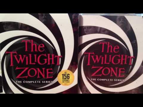 The Twilight Zone: The complete series (1959-1964) DVD Unboxing.